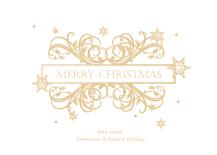 Christmas Cards - victorian snowfall