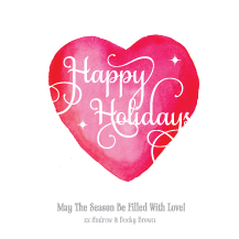 Holiday Cards - i heart the holidays