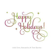 Holiday Cards - holiday harmony