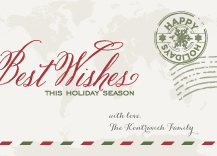 Holiday Cards - par avion