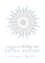 Holiday Cards - shine bright