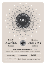 Wedding Invitations - dazzle