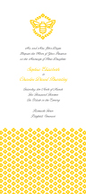 Wedding Invitations - honey bee