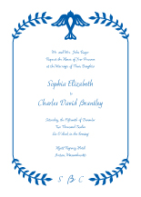 Wedding Invitations - love bird