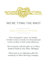 Wedding Invitations - the knot