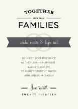 Wedding Invitations - vintage type