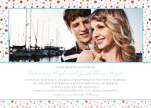 Wedding Invitations with photo - harmony