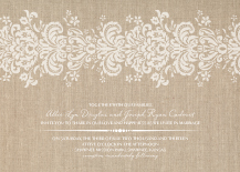 Wedding Invitations - devotion