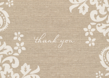 Wedding Thank You Card - devotion