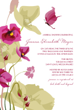 Wedding Shower Invitation - adoring
