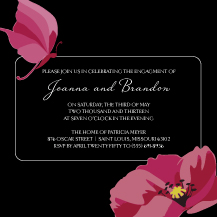 Engagement Party Invitation - adoring