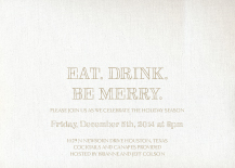 Holiday Party Invitations - appealing
