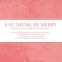 Holiday Party Invitations - best wishes