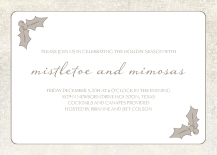 Holiday Party Invitations - desire