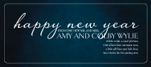 New Years Cards - eloquent