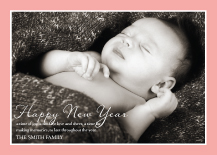 New Years Cards - silent night