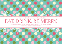 Holiday Party Invitations - joy