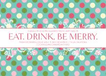 Holiday Party Invitations - joy