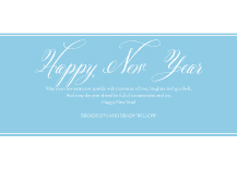 New Years Cards - believe