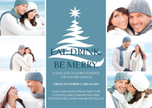 Holiday Party Invitations - beautiful moments