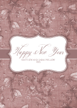New Years Cards - graceful