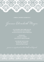 Wedding Shower Invitation - elegant