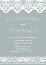 Engagement Party Invitation - elegant