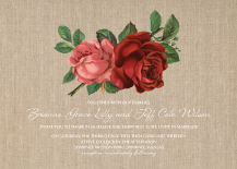 Wedding Invitations - alluring