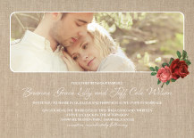 Wedding Invitations with photo - alluring