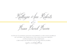 Wedding Invitations - embraceable
