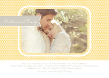 Wedding Invitations with photo - honey sweet
