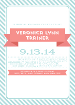 Wedding Shower Invitation - smitten