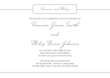 Engagement Party Invitation - enchanted