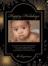 Holiday Cards - starburst holiday