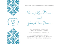 Engagement Party Invitation - royal