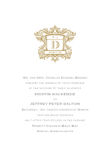 Wedding Invitations - wedding heraldry