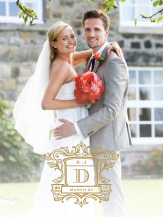 Wedding Thank You Card with photo - wedding heraldry