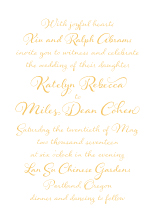 Wedding Invitations - whimsical charm