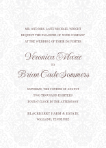 Wedding Invitations - kiss the bride