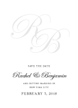 Save the Date Card - true elegance