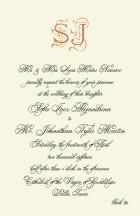 Wedding Invitations - quintessential