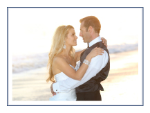 Wedding Thank You Card with photo - maritime