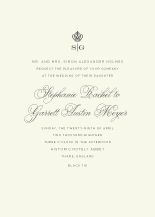 Wedding Invitations - regal