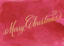 Christmas Cards - watercolor christmas