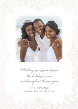 Holiday Cards - icy elegance