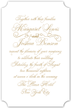 Wedding Invitations - unconditionally