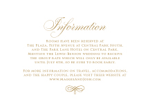 Information Cards - unconditionally