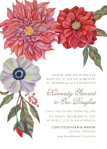 Wedding Invitations - in full bloom