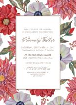 Wedding Shower Invitation - in full bloom