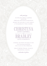 Wedding Invitations - chantilly